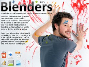 Welcome to Blenders UX